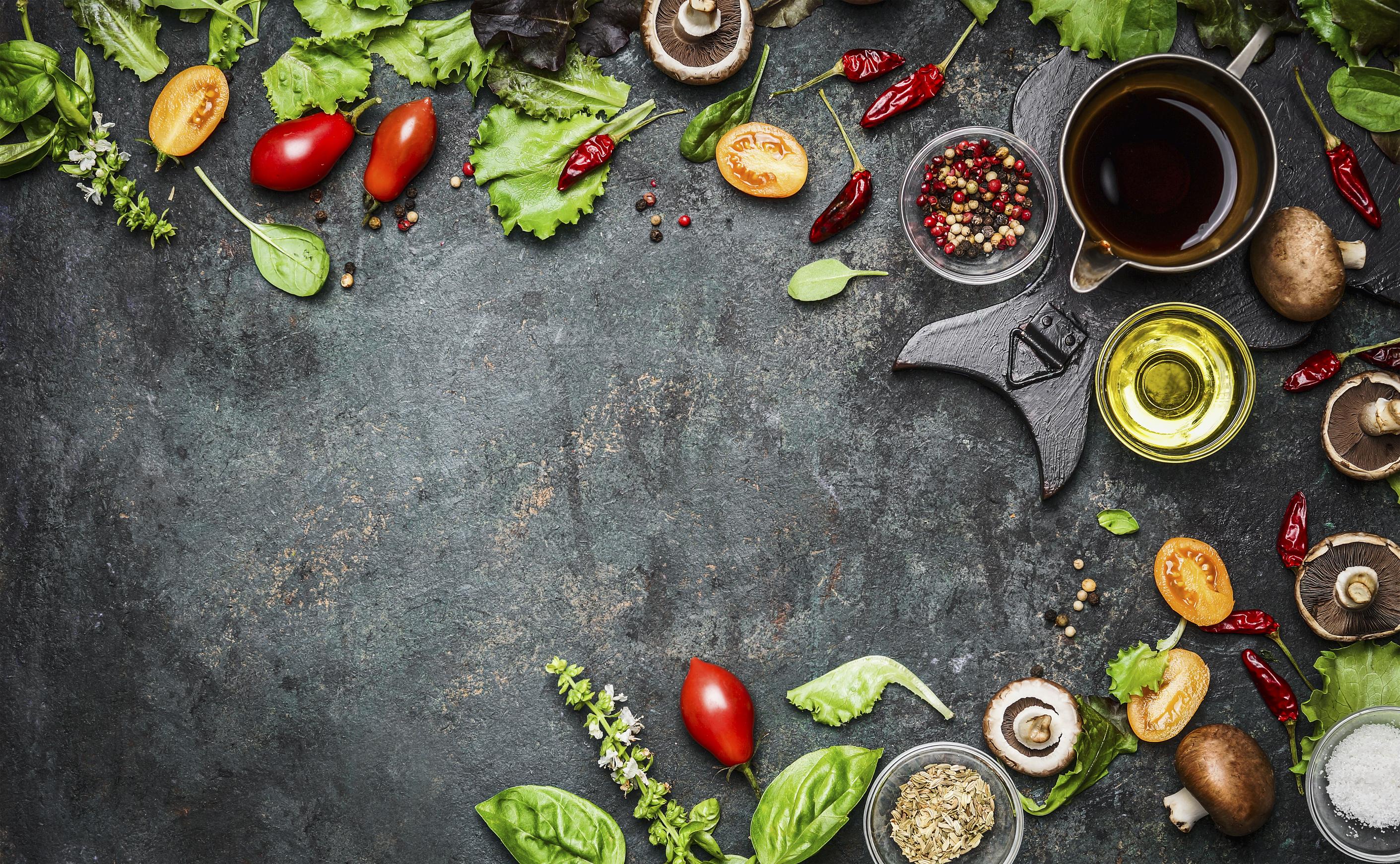 Wallpaper Natural Food
