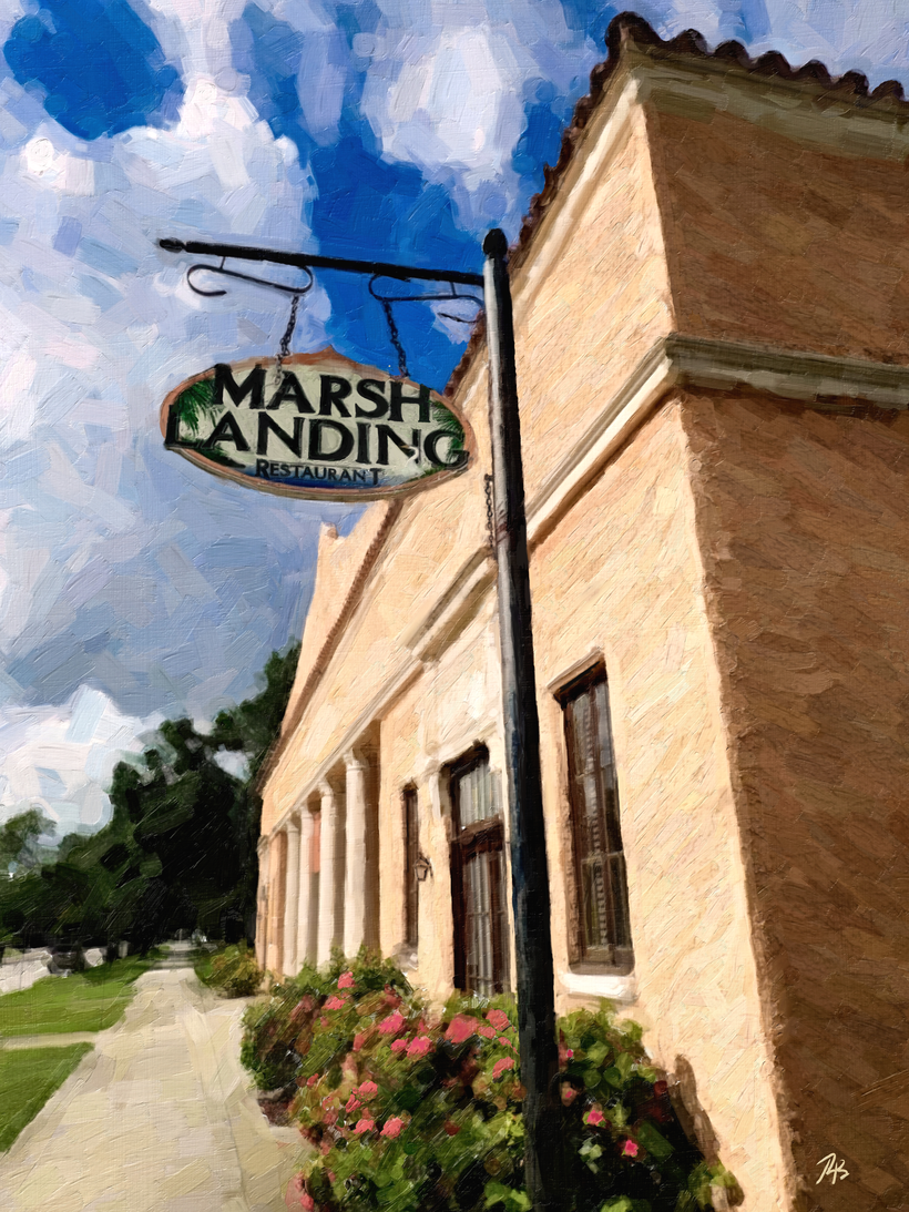 Marsh Landing Restaurant located at 44 N. Broadway Street, Fellsmere