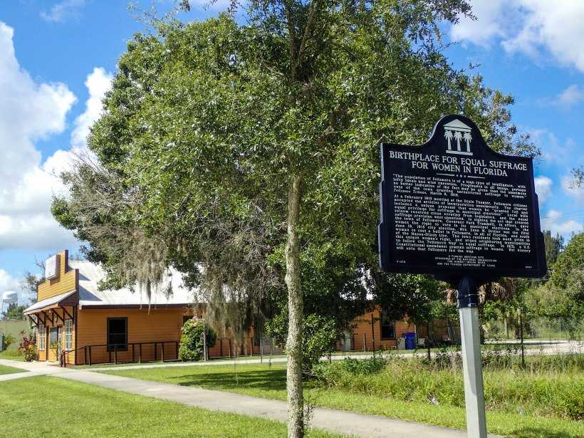 Birthplace for Equal Suffrage for Women in Florida