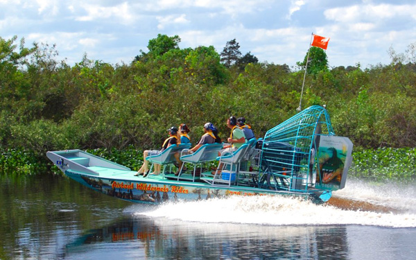 Airboat Wilderness Rides Visit Indian River County