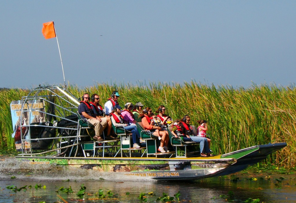 Airboat tour in Indian River
